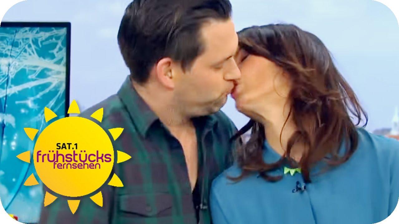 Der Kuss Des Jahres Sat1 Frühstücksfernsehen