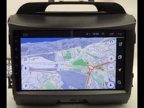 Штатная магнитола для Kia Sportage III 10-15 Android GPS