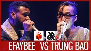 TRUNG BAO vs EFAYBEE  |  Grand Beatbox SHOWCASE Battle 2017  |  1/4 Final
