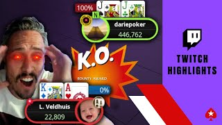 When Poker Streamers get ANGRY ♠️ WCOOP Highlights ♠️ PokerStars