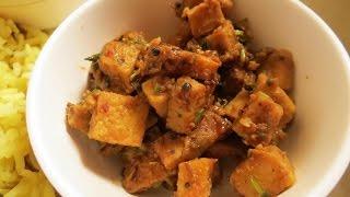 Recipe - Suran (Yam) Sabzi (vegetable)