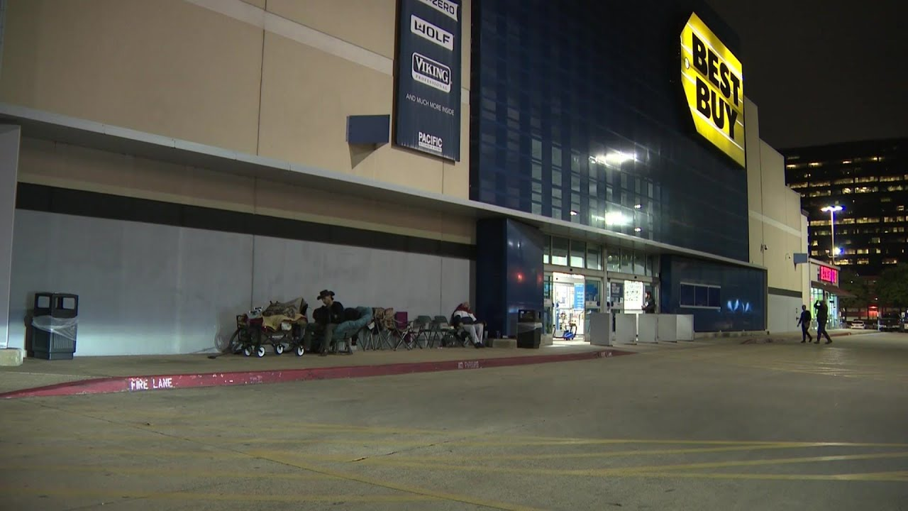 Camping Already Bargain Lovers Are Ready For Black Friday Two Days Early Youtube