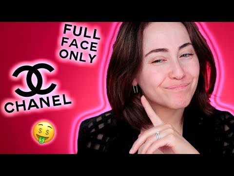 UNFASSBAR Schlechte ... Full Face Using Only Chanel Makeup 🤯 | Hatice Schmidt