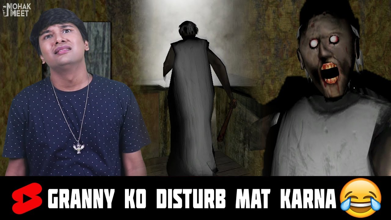Download Granny Ko Disturb Mat Karna 😂 HORROR GAME GRANNY CT 2 : SLENDRINA GRANNY COMEDY   MOHAK MEET #Shorts