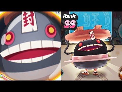 Yo-Kai Watch Puni Puni -  Wobblewok SS Rank - Extreme Budokai