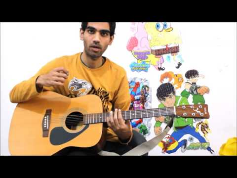 Tum Hi HO  Aashiqui 2  Complete Guitar  Lesson CHords Intro Easy Hindi