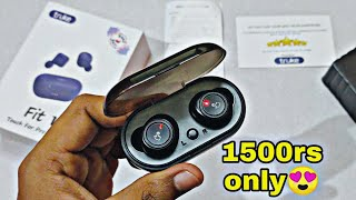 Truke Fit 1 Unboxing & Review | Best Wireless EarPods under 1500??