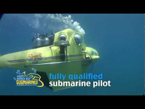 Great Barrier Reef Submarines - The newest way to see the reef! Check it out!