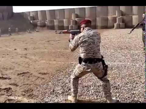 كابتن سعد السوداني  --تدريب على السلاح AK 47 thumbnail