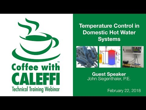 Temperature Control in Domestic Hot Water Systems