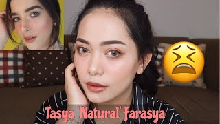 Ngikutin Make Up 'ala' Tasya Farasya ANTI MAHAL | Nitha Fitria