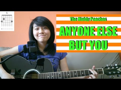 [JUNO movie] The Moldy Peaches - Anyone Else But You (acoustic cover KYN) + Lyrics + Chords