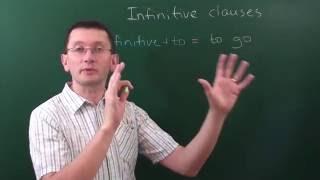 Инфинитивная конструкция (infinitive + to) в английском языке