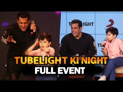 Tubelight Ki Night | FULL EVENT | Salman Khan, Matin Rey Tan