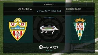 UD Almería - Córdoba CF MD27 D1600