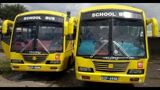 Handover Of CDF Funded School Buses For Mama Ngina Primary School in Nakuru Town West