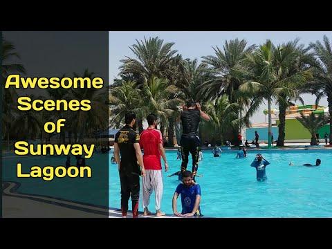 Sunway Lagoon Water Park karachi Awesome Scenes By Malik Majid Qamar