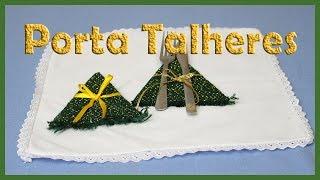Porta Talheres Decoração de Natal ( DIY, Ideias e Decorações)