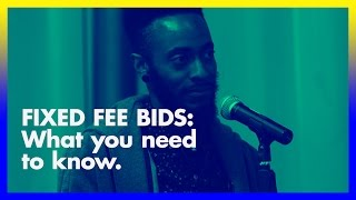 Fixed fee bids for design— why do it? What you need to know.