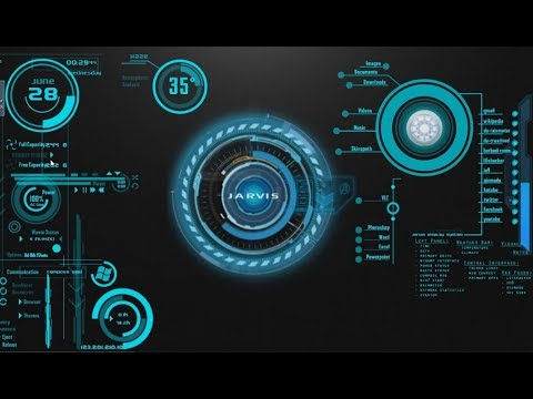 Jarvis Iron Man Theme Pack On Windows    Great Look F F  D F F  D