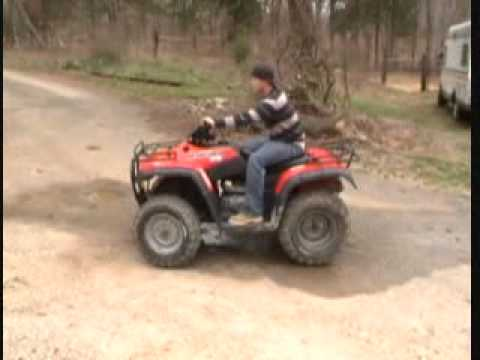 Honda Four Wheelers For Sale >> HONDA RANCHER TRX 350 ATV 4 WHEELER--FOR SALE $2200 - YouTube