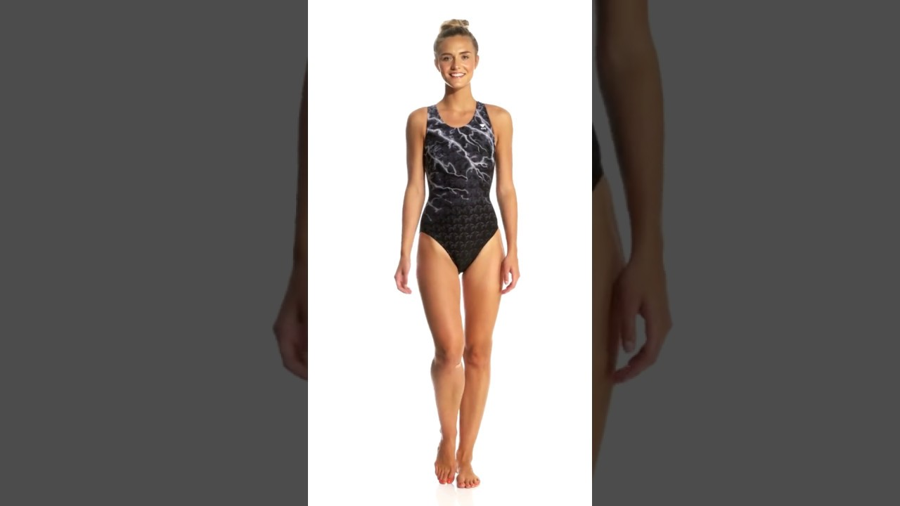 847becb12b TYR Women's Illume Maxfit One Piece Swimsuit | SwimOutlet.com - YouTube