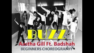 Buzz - Aastha Gill ft  Badshah | Dance Choreography | Footlight Dance Studio