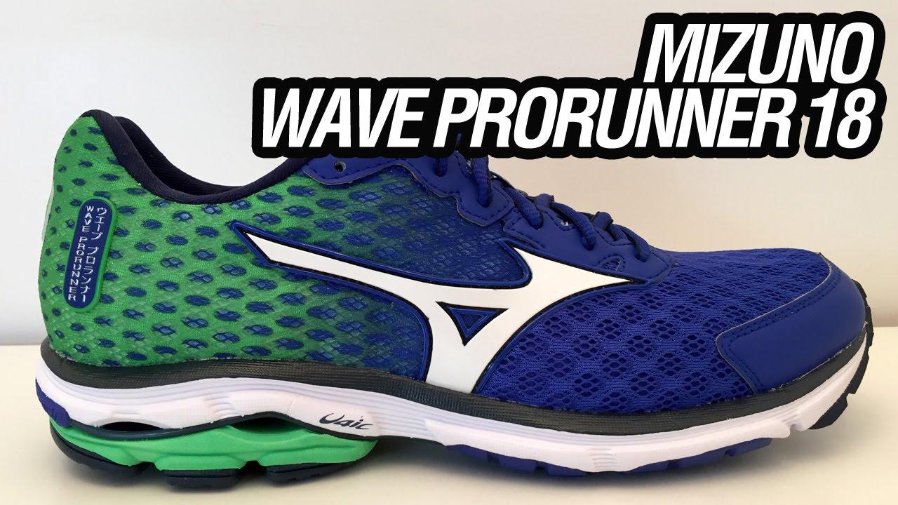 3d5d9a9a4f4 Mizuno Wave Prorunner 18 (Unboxing). Tênis Certo