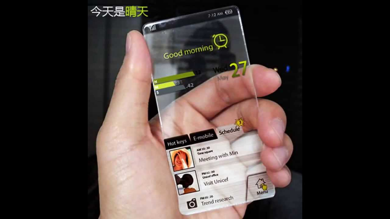 all the iphones transparent iphone 6 concept soon 3971
