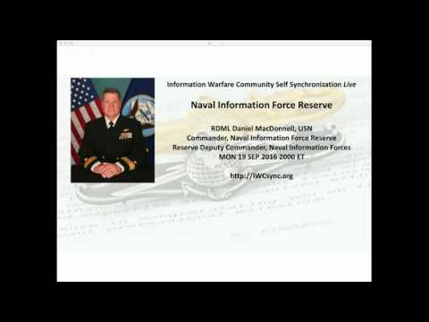 IWCsync Live: Naval Information Force Reserve