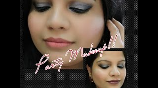 PARTY MAKEUP: BLUE SMOKEY EYES Thumbnail