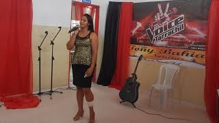 Bruna Oliveira. convidada especial 1º The Voice Tarrachil 2017  09\12\2017.