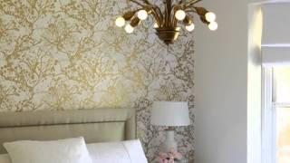 видео Обои-компаньоны: примеры для спальни (46 фото): размещение в интерьере, как поклеить обои-партнеры