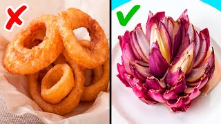 31 KITCHEN GADGETS AND TRICKS FOR YOUR COMFORT || Creative Food Carving Ideas