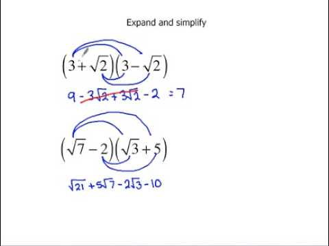 expand and simplify worksheet pdf
