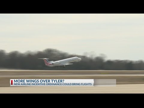 Tyler Pounds Regional Extends Incentives To Bring More Airlines To Airport