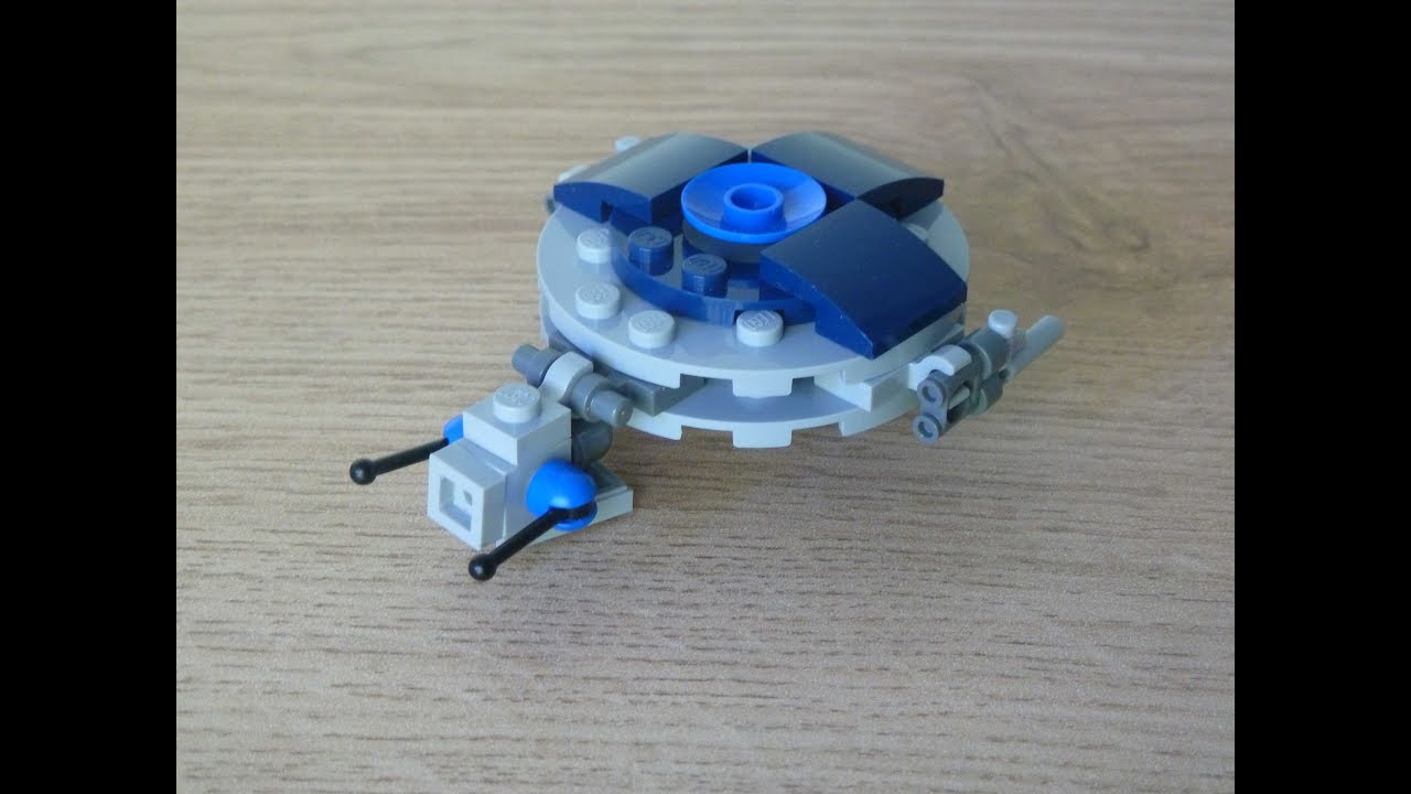 Lego Star Wars Droid Gunship Instructions Magazine Gift November