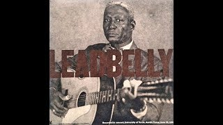 Leadbelly - Irene Goodnight (Live/1949)  [HD]