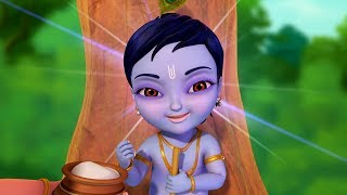 Tarangam Tarangam and Little Krishna Telugu Rhymes Collection | Infobells