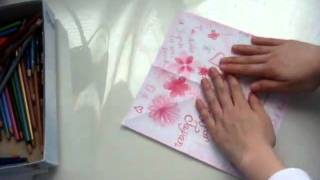 How To Fold An Origami Crane With A Cherry Blossom Inspired Design