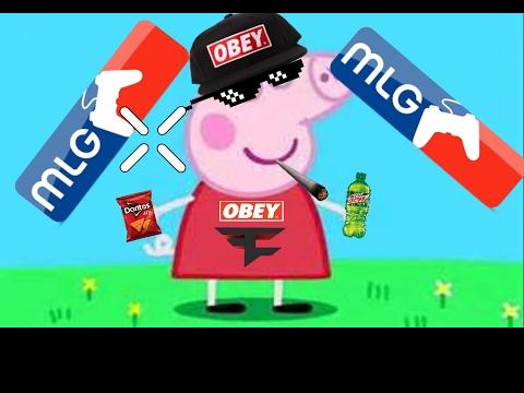 MLG Peppa Pig// Peppa Needs Some Milk???