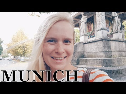 Munich, Germany | travel vlog: Odeonsplatz, Angel Of Peace, University Campus, Eisbach River Surfing