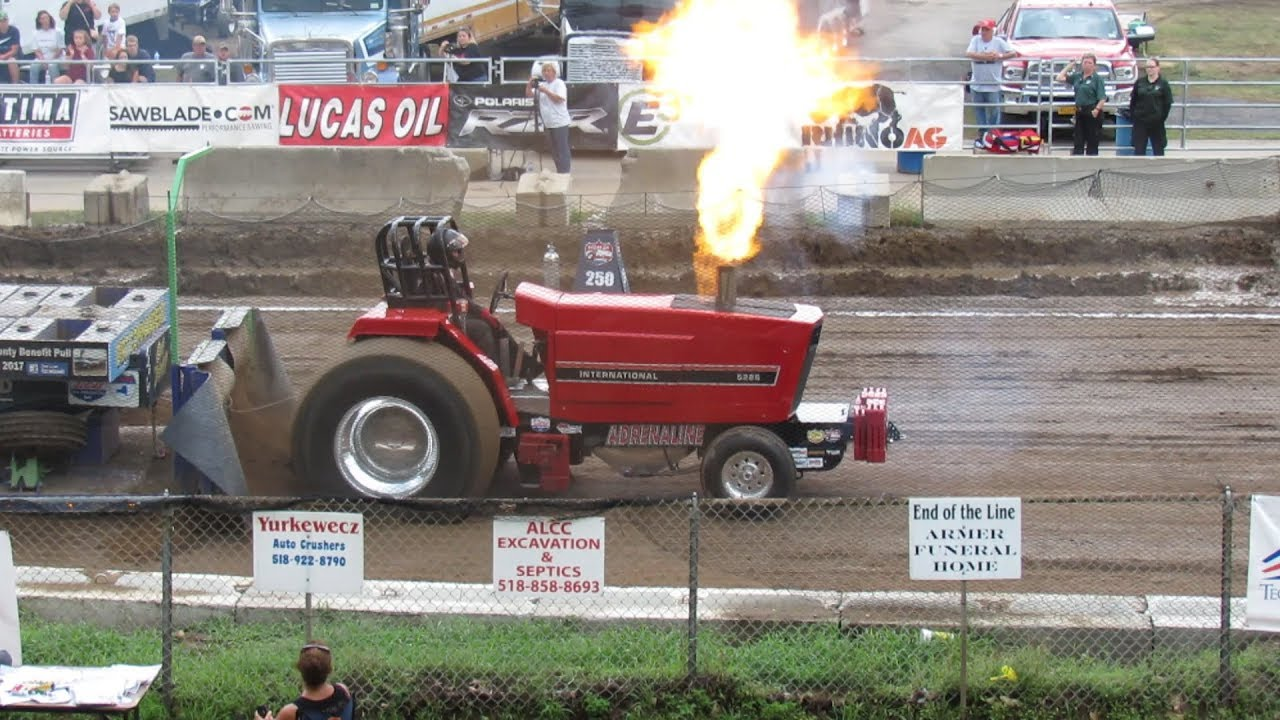 2018 NYTPA Super Stock Tractor Pulls at Saratoga County ...
