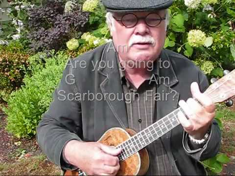 SCARBOROUGH FAIR for UKULELE - UKULELE LESSON / TUTORIAL by