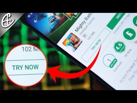 Play Games w/o Downloading - Google Play Instant
