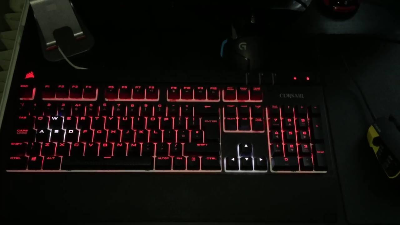 Corsair Strafe RGB Firmware 2 04 Issue