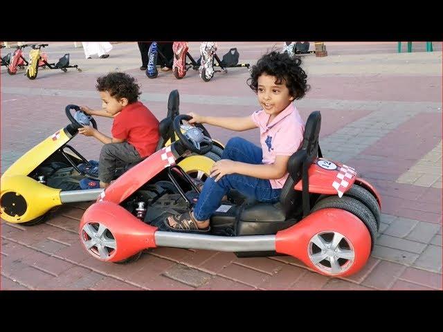 🔥تحدي سباق السيارات بين آسر وسامر🔥