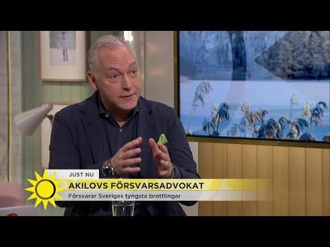 """Han försvarar terrormisstänkta Akilov: """"Ett hedersuppdrag"""" - Nyhetsmorgon (TV4)"""