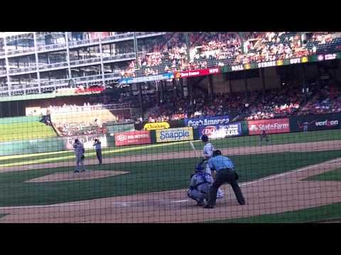 Walkoff homer by Josh Hamilton in 13th inning May 26, 2012  Rangers v. Blue Jays