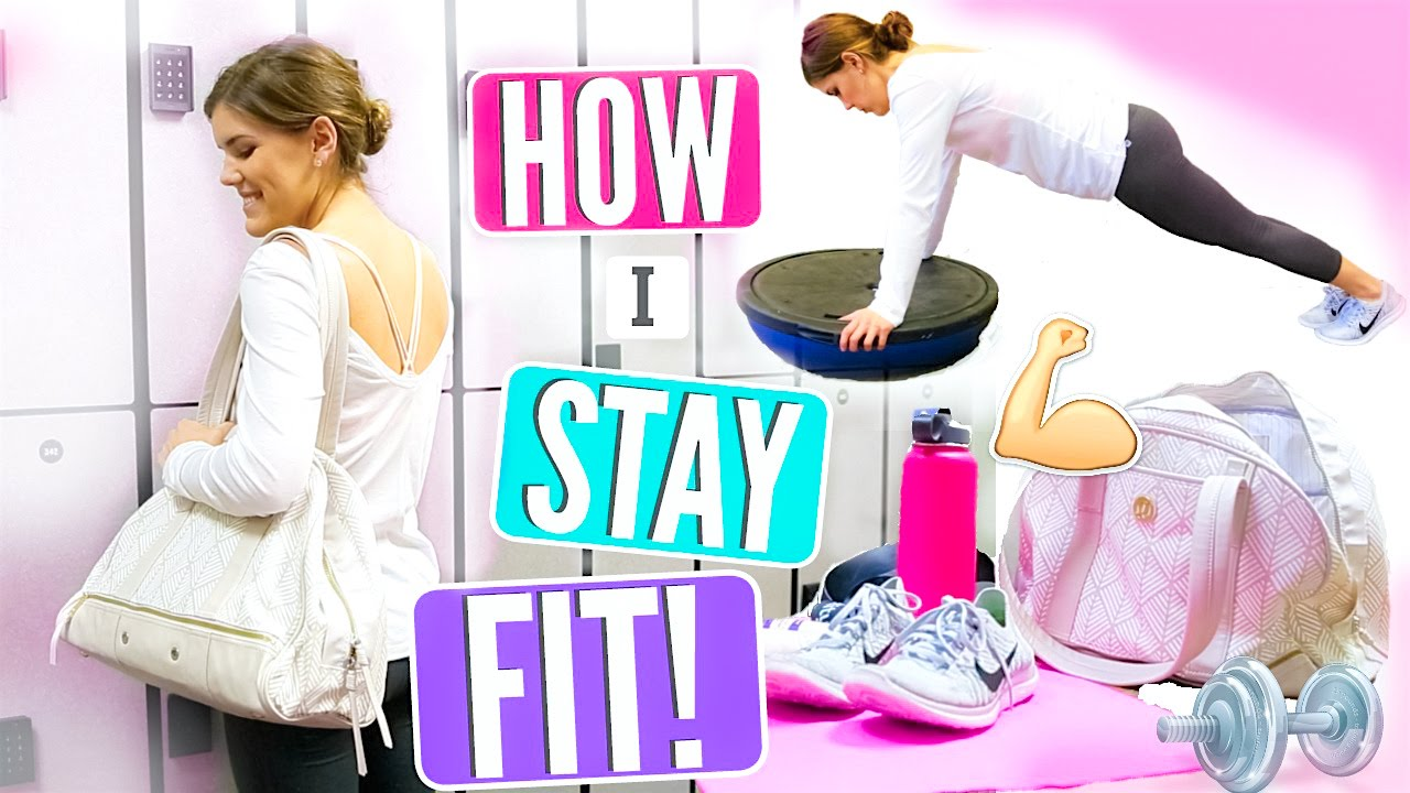 6087d30abe7222 How I Stay Fit! My Gym Routine + Workout Essentials! - YouTube